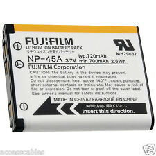 Genuine Fuji NP-45A Battery for Finepix XP10 XP11 XP30 JZ500 JZ505 JZ300 Camera