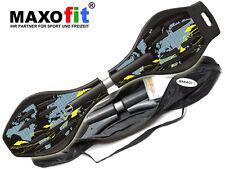 Waveboard MAXOfit XL World Map, bis 95 kg
