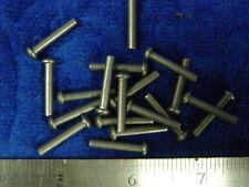 25 Solid Steel 1/8 X 3/4 Sca armor rivets Larp round head diesel punk steam
