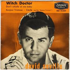"David Seville & Chipmunks ""Witch Doctor"" French 50'S Ep London 10007"