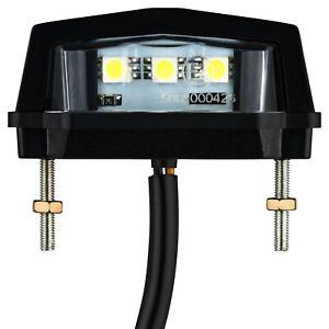 LED Mini Kennzeichen Beleuchtung Leuchte Lampe Motorrad Auto Kfz Anhänger Quad