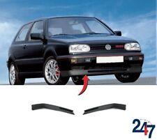 NEW VW GOLF MK3 1991-1999 FRONT BUMPER GTI GT VR6 LIP SPOILER PAIR SET N/S + O/S