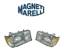 Mercedes W124 E300 Set Of Left And Right Headlights Assembly OEM Magneti Marelli