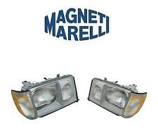 For Mercedes W124 E300 Set Of Left & Right Headlight Assemblies Magneti Marelli