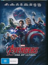 The Avengers Age Of Ultron DVD NEW Downey Hemsworth Ruffalo Evans Johansson