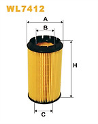 Filtron OE674 Oil Filter Fits Chrysler Voyager / Jeep Cherokee