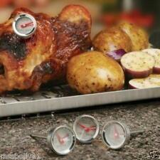MAVERICK RT-04 SET OF 4 ANALOG MINI GRILLING COOKING THERMOMETERS REMOTE READ