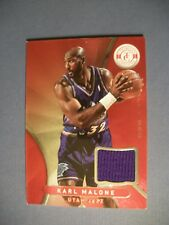 KARL MALONE 2012-13 Totally Certified Totally Red GU relic #28 Jazz