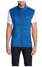 Eddie Bauer Mens Size 2X-Large Quest 200 Fleece Vest, True Blue