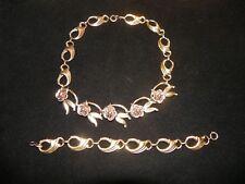 Harry Iskin Necklace & Bracelet set 12k gf