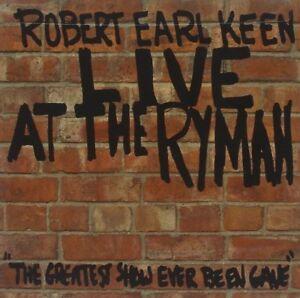 ROBERT EARL KEEN - LIVE ATH THE RYMAN   CD NEU