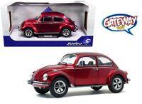 1/18 Solido VW Volkswagen Beetle 1303 Diecast Model Car Custom Red S1800512