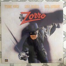 The Mark Of Zorro - LaserDisc