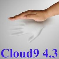 "CLOUD9 4.3 KING 3"" MEMORY FOAM MATTRESS PAD, BED TOPPER"