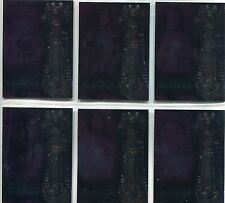 Witchblade Season 1 Complete Legacy Of The Witchblade Chase Card Set L1-6