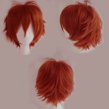 Quality Thick Brazilian Anime Short Wig Blonde Purple Women Laides Cosplay Wig h