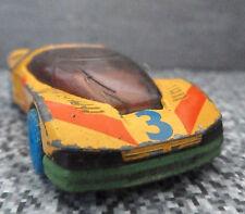 Matchbox PEUGEOT QUASER 1:57 Scale 1986 Yellow Car