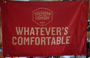 Southern Comfort Whiskey Company Logo Advertising Flag Bar New Orleans Original