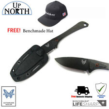 Benchmade HUNT 152000DLC  Altitude Knife Black w/ Kydex Sheath Free Hat!!!