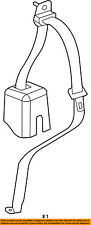 Jeep CHRYSLER OEM 11-17 Wrangler Rear Seat Belts-Outer Belt Right 1RN02DX9AC