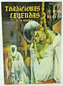 Tradiciones y Leyendas de la colonia 8 El Callejon del Muerto 1963 Spanish Comic