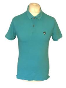 Lyle & Scott Men's Heritage Polo T Shirt Blue Small Short Sleeve