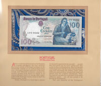 Most Treasured Banknotes Portugal 100 escudos 1981 P 178b UNC LOW AFG08522