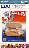 EBC Ant Sx Pastiglia Freno [Resistente Sinterizzato] [Tipo: Serie R] FA172R