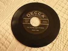 ERNEST TUBB THE YELLOW ROSE OF TEXAS/A MILLION MILES FROM HERE DECCA 29633 M-