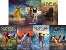 Erin Hunter SURVIVORS Series Collection of PAPERBACKS 1-7 w/ Tales From the Pack