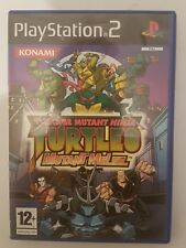 Teenage mutant ninja TURTLES mutant melee para Ps2 en español y completo