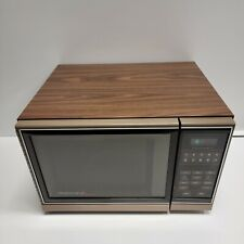 Vintage 1987 Amana Radarange Microwave Oven w/SHELF Touchmatic RS458P 1500 Watts