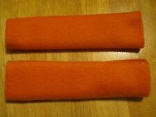 Set of 2 Soft & Secure CPAP Comfort Pads Keeps Mask Straps tangerine orange