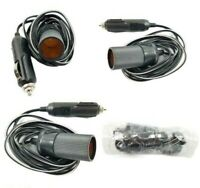 2M 12V Cigarette Lighter Extension Cord 10A Car Charger Socket Adapter Extender
