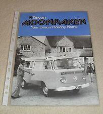 Volkswagen VW Kombi Devon Moonraker Brochure / Flyer - T2 Based