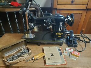 Pfaff 130 Sewing Machine With Extras