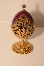 Franklin Mint Fabergé We Three Kings Collector Egg B11Zm87