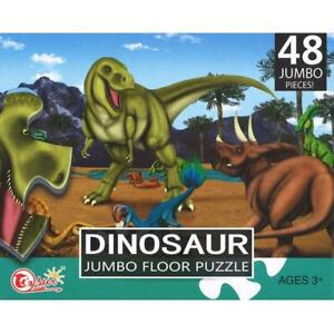 Sun Jumbo Floor Jigsaw Puzzle - Dinosaurs 48pc - #88098