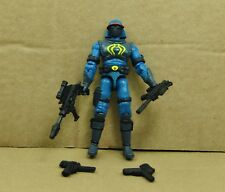 """3.75"""" Gi Joe Blue NEO VIPER 3  with Weapons Rare Action Figure"""