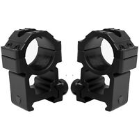 """Tall Height 1"""" Heavy Duty Aluminum Scope Ring Mounts fits Ruger Precision Rifle"""