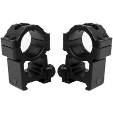 Tall Height Rugged Scope Rings Fits BT TM15 Elite Spyder MR5 HAMMER Markers