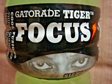 "2009 TIGER WOODS ""Tiger Focus"" GATORADE BOTTLE 16.9 oz Cool Fusion"