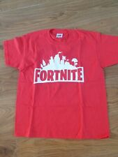 Boys Red Fortnite Top Brand New Unlicensed Age 6-7 Years