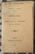 La CAVALERIE dans la Bataille ✤ 1916 ✤ Gd Quartier Général Armées ✤ Hussards