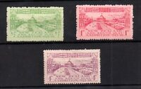 New Zealand 1925 Dunedin Exhibition mint MH #463-465 WS21212
