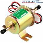 12V Electric Fuel Pump HEP-02A Universal Inline Low Pressure Gas Diesel