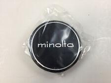 Minolta 54mm Metal Push On Lens Cap, Like New with Box