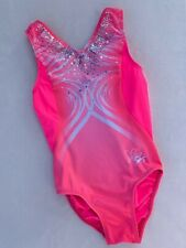 NASTIA LIUKIN Gymnastics Leotard GK Elite PINK Sequin Bling SOLD OUT Size CL