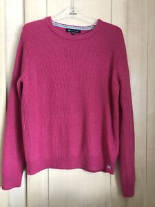 Crew Clothing Company.  Ladies Pink Jumper. Size 16