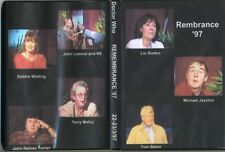 Doctor Who Remembrance '97 Con 4 DVD 1997 Tom Baker, Lis Sladen, JNT, Debbie Wat